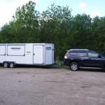 Skydebane-trailer