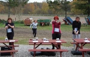 Combined Event på Nordøstsjællands Rideskoles efterårslejr 2011
