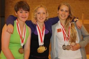 medaljevindere kvinder