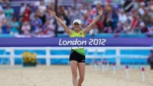 Laura Asadauskaite olympisk vinder 2012