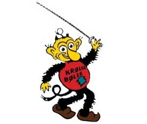 Bornholms maskot Krølle Bølle er klar til femkamp!