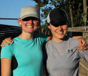 Mia Emborg og Elise Bangert