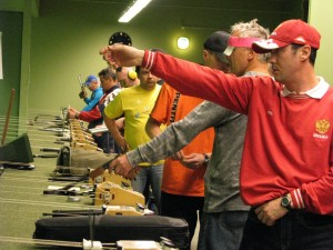 Masters EM 2009, skydning i Grøndalcentret