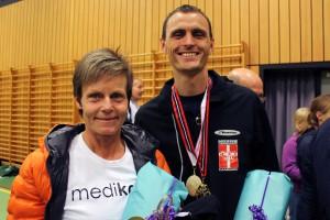 Danmarksmestrene i moderne femkamp 2014